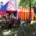 Unser Lagerleben bei den mittelalterlichen Markttagen in Aichach 2012