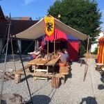 Unser Lager bei den Historischen Markttagen in Inchenhofen.