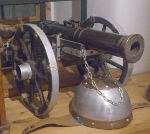Kanone Turm-gr